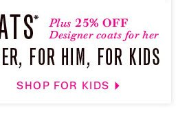 Shop For Kids Coats