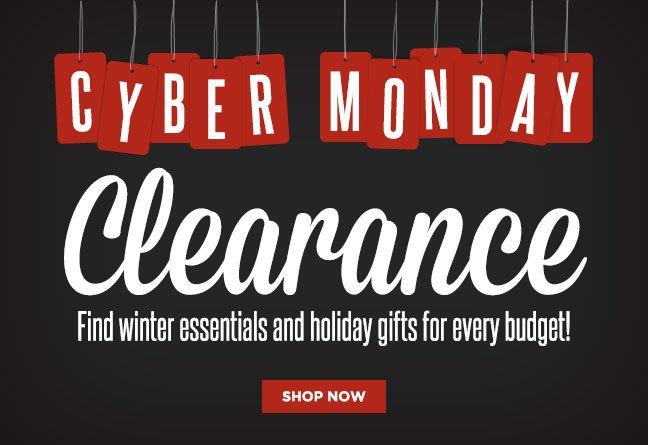 Shop Our Cyber Monday Sale