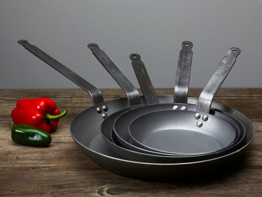 Mauviel has been producing some of the world's finest cookware since the 19th Century, and we use their pans in all of my kitchens.
