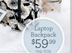 Laptop Backpack - $59.99