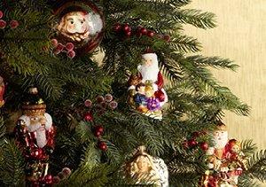 Krebs Lauscha Glass Ornaments