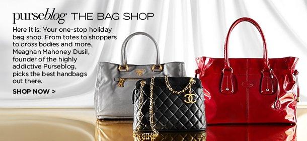 PURSEBLOG: THE BAG SHOP, Event Ends December 3, 9:00 AM PT >