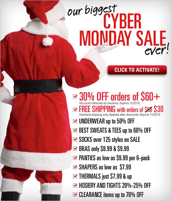 Biggest Cyber Monday Sale Ever