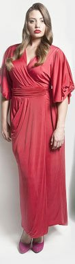 The April Dress in Russian Red by Queen Grace