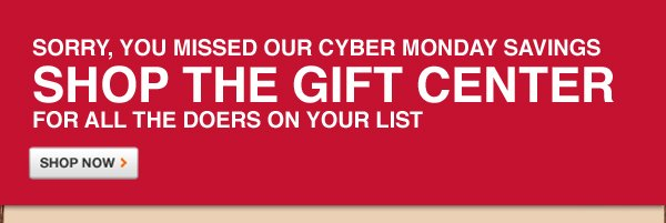 Cyber Monday Savings On Over 30,000 Products