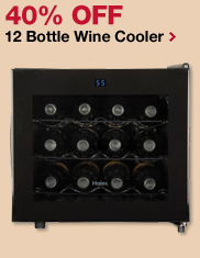 40% OFF 12 Bottle Wine Cooler