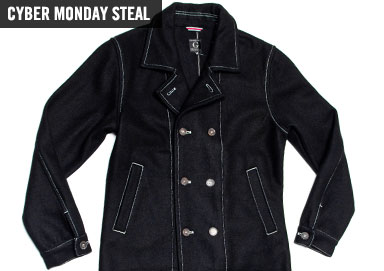 Shop Cyber Monday Steal: Peacoat $49.99