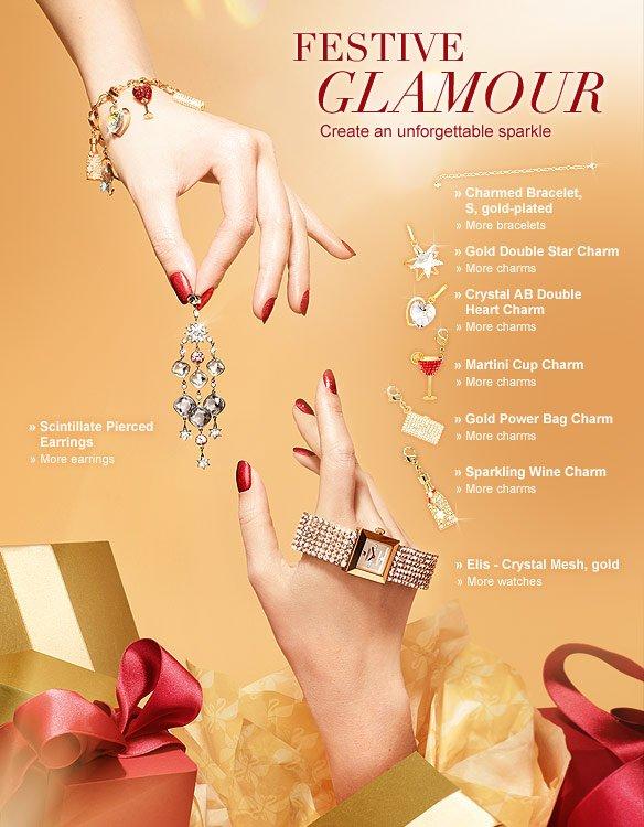 Festive glamour