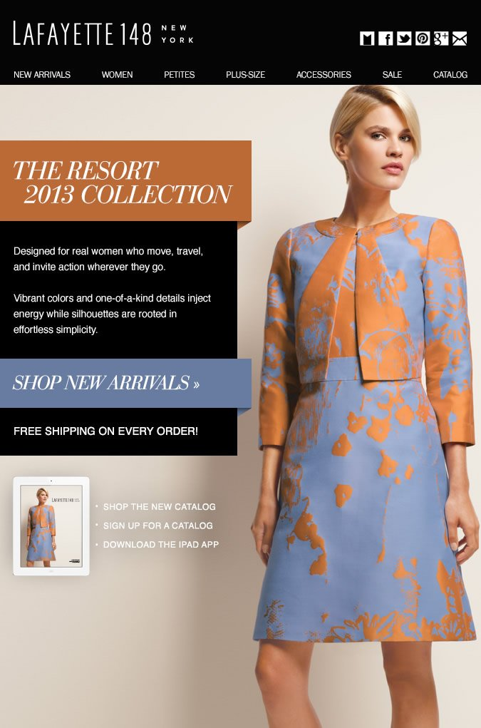 Just Arrived: The Resort 2013 Collection