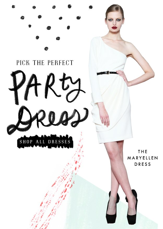 Pick the Perfect Party Dress!