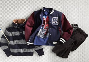For the Boys:  Buttondowns, Polos, Cords & More