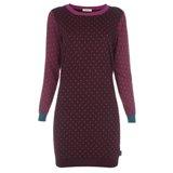 Paul Smith Dresses - Burgundy Polka Dot Jumper Dress