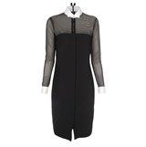Paul Smith Dresses - Black Satin Shirt Dress
