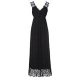 Paul Smith Dresses - Black Pleated Silk Maxi-Dress