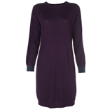 Paul Smith Dresses - Purple Knitted Jumper Dress