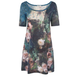 Paul Smith Dresses - Tapestry Floral Print T-Shirt Dress