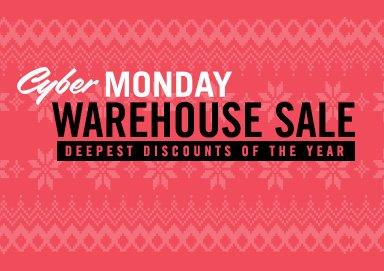 Shop Cyber Monday Mega Warehouse Sale