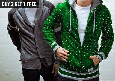 Shop Stock Up: Fleece & Varsity Jackets