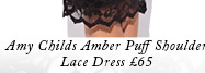 Amy Childs Amber Puff Shoulder dress