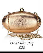 Oval Box Bag