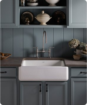 The Appeal of the Apron-front Sink