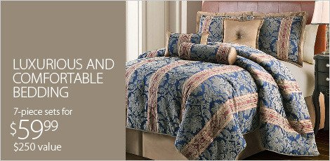 Luxurious & Comfortable Bedding