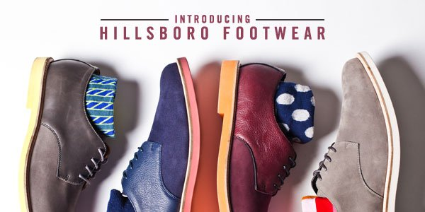 Introducing: HILLSBORO FOOTWEAR -- Premium Derby Dress Shoes Exclusive