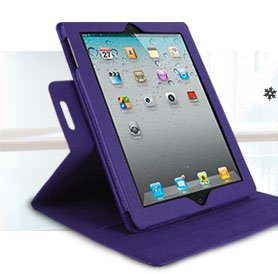 rooCASE Dual-View Leather Case for iPad