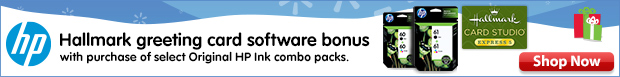 HP Hallmark offer