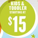 KIDS & TODDLER STARTING AT $15