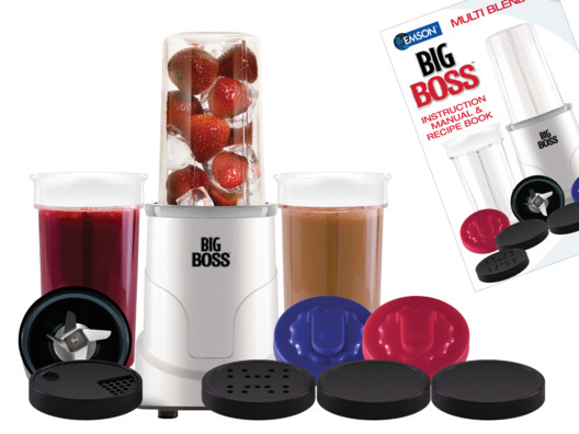 Big Boss Personal Blender from Brendan Brazier