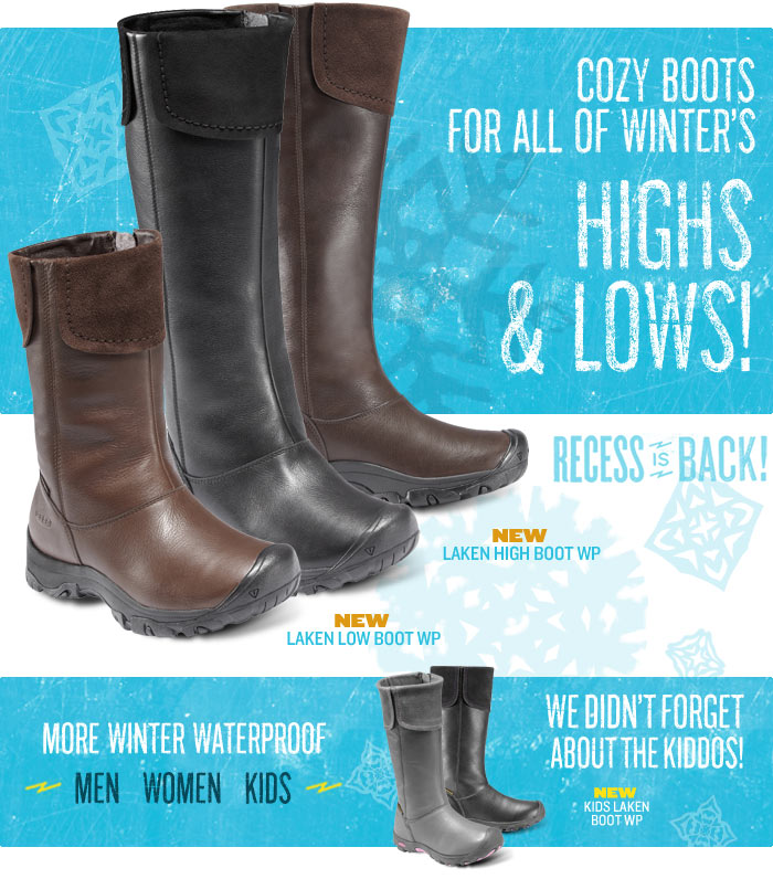 Cozy Boots for all of Winter's Highs and Lows!