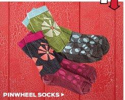 Pinwheel Socks ›