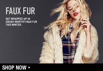 Winter Obsession! Love Faux Fur - Shop Now