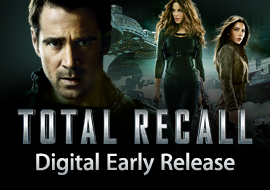 Total Recall (Unrated) - Digital Early Release