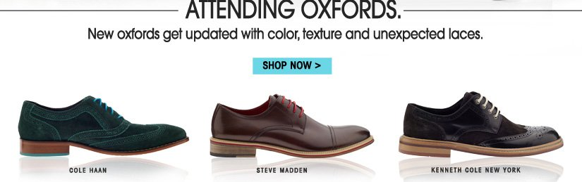 ATTENDING OXFORDS. SHOP NOW