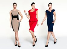 Perfectly Paired Structured Dresses & Sleek Pumps
