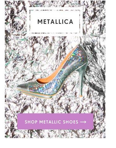 Shop Metallic Shoes