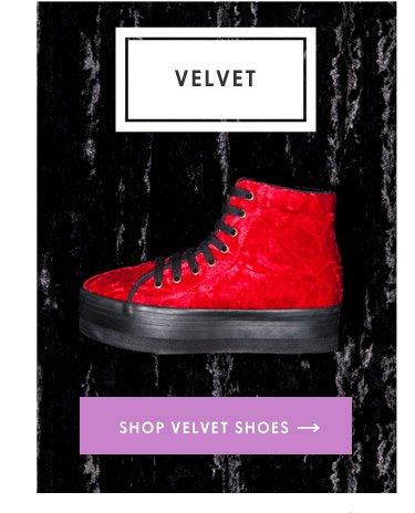 Shop Velvet Shoes