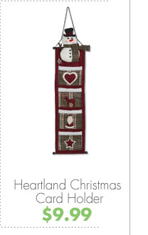 Heartland Christmas Card Holder $9.99