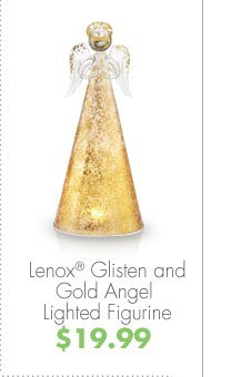 Lenox® Glisten and Gold Angel Lighted Figurine $19.99