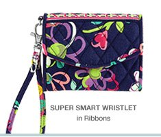 Super Smart Wristlet in Ribbons