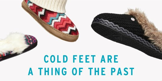 Cold Feet Are a Thing of the Past