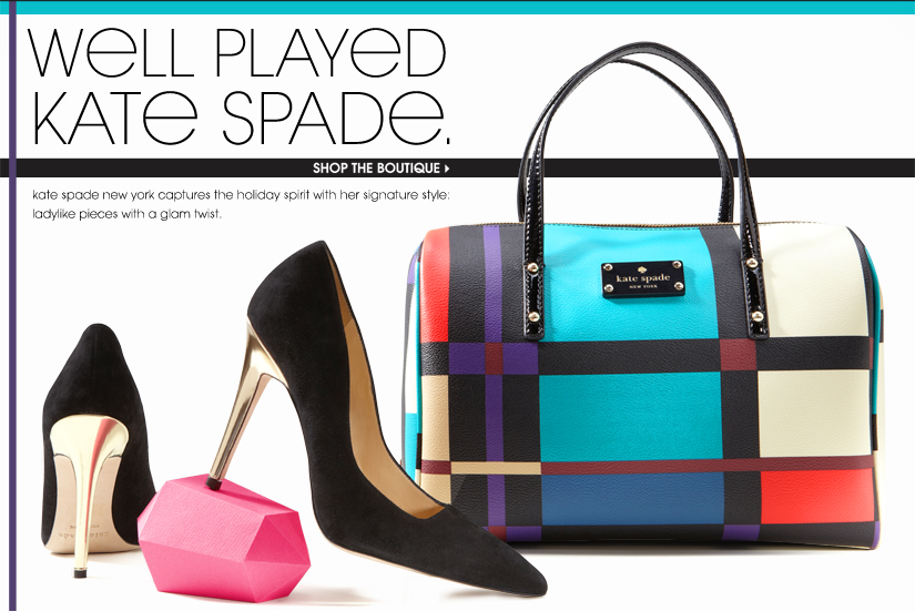 WELL PLAYED KATE SPADE. SHOP THE BOUTIQUE
