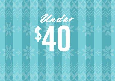 Shop Gifts Under $40