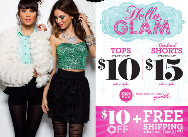 Pumps starting at $15!, $5, $10, $15 Blowout Sale and Drop Dead Sexy Dresses starting at $20 - SHOP NOW