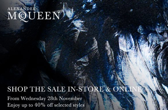 Shop The Sale In-Store & Online