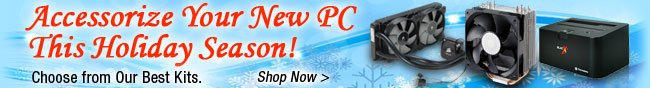 Accessorize Your New PC This Holiday Season!