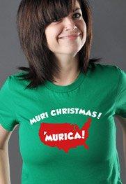 'Muri Christmas! 'Murica!