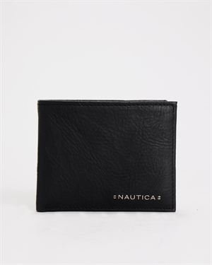 Nautica Downhaul Leather Passcase Wallet